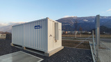 ADS-TEC StoraXe-Großspeicher in Domat/Ems (Graubünden), Bildquelle: ads-tec Energy GmbH