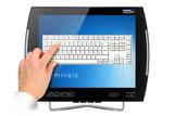 VMT8015 mit aktueller PCAP Multi-Touch-Technologie ausgestattet